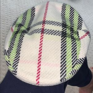 Burberry wool flat cap